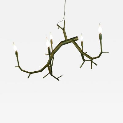 CP Lighting Christopher Poehlmann newGROWTH 5 light Green Branchelier