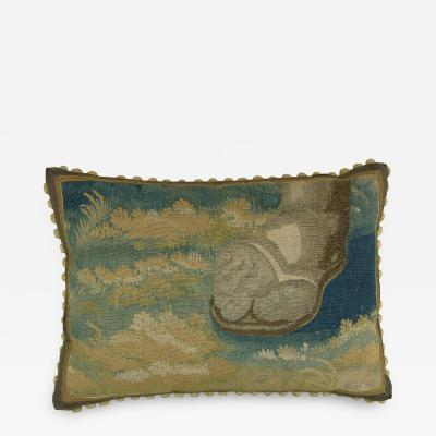 Ca 1650 Brussels Tapestry Pillow