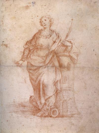 Camillo Proccacini Saint Barbara
