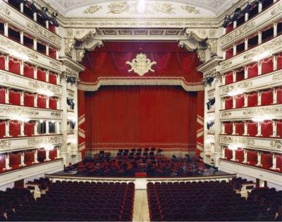 Candida Hofer Candida Hofer Teatro alla Scala Miliano V Photograph 2005