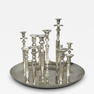 Candleholder Centerpiece Italy 1970 s