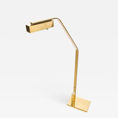 Cantilevered Flat Bar Pivot Reading Lamp by Casella