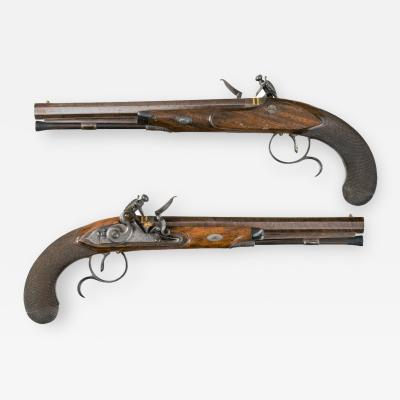 Captain Coghlan s duelling pistols by Twigg of London