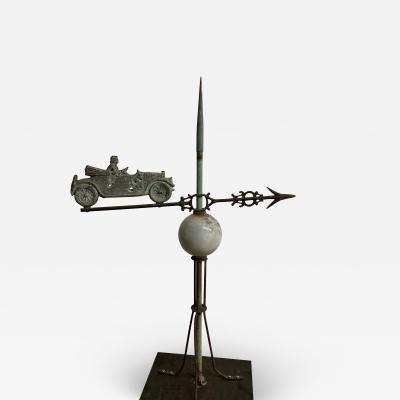 Car Weathervane Lighting Rod