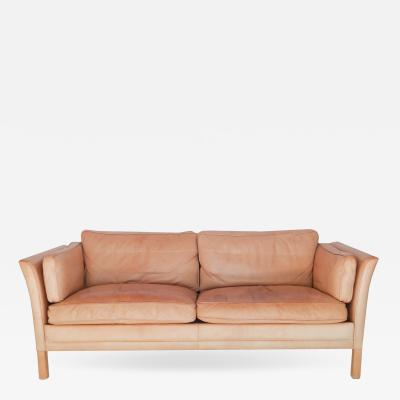 Caramel Leather Sofa