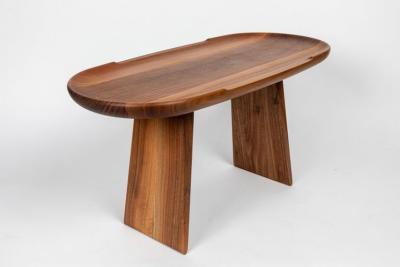 Carl Aub ck Carl Aubo ck Model 3511 Walnut Table