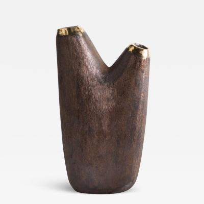 Carl Aub ck Carl Aubo ck Model 3794 Aorta Brass Vase