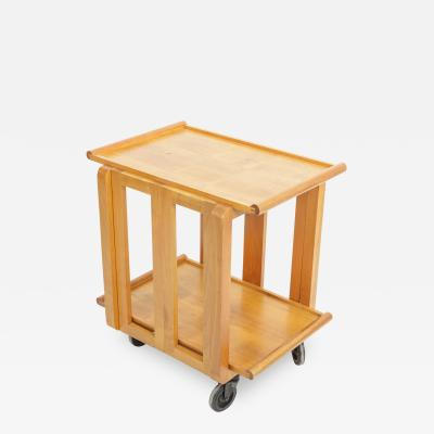 Carl Aub ck Carl Aubock III Folding Tea Trolley