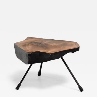 Carl Aub ck Carl Aubock burl wood tree trunk coffee table