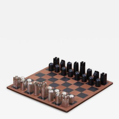 Carl Aub ck Modernist Chess Set 5606 by Carl Aub ck
