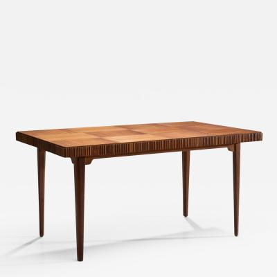 Carl Axel Acking Wood Dining Table by Carl Axel Acking for Bodafors ca 1940s 1950s