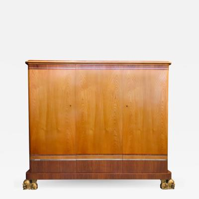 Carl Bergsten Large Carl Bergsten Swedish Art Deco Cabinet