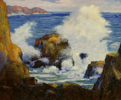 Carl Christian Abel Sea Spray Laguna