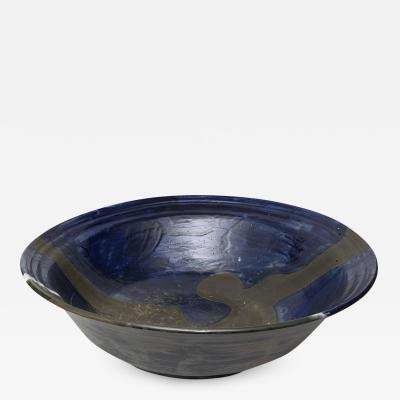 Carl Cunningham Cole MONUMENTAL CERAMIC BOWL BY British Ceramicist CARL CUNNINGHAM COLE