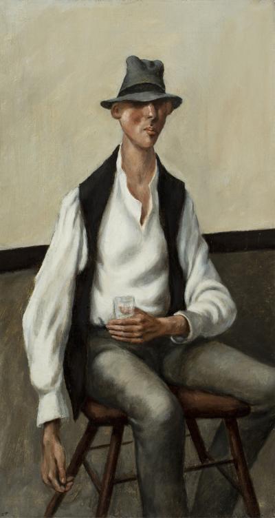 Carl E Jr Pickhardt Man with a Drink c 1935