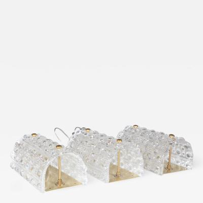 Carl Fagerlund Carl Fagerlund for Orrefors Lyfa pair of wall lamps