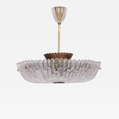 Carl Fagerlund Carl Fagerlund large ceiling lamp for Orrefors