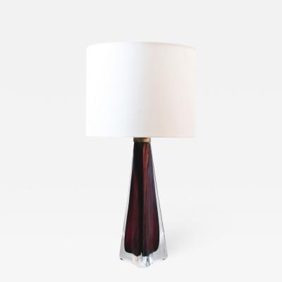 Carl Fagerlund Glass Table Lamp by Carl Fagerlund for Orrefors