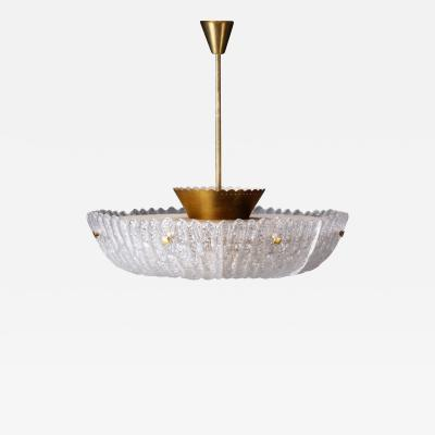 Carl Fagerlund Large Embassy Chandelier by Carl Fagerlund for Orrefors