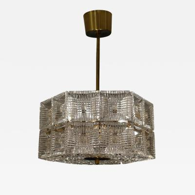 Carl Fagerlund Mid Century Pendant by Carl Fagerlund for Orrefors