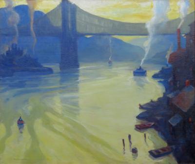 Carl Frederick Gaertner The Allegheny River