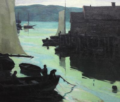 Carl Frederick Gaertner The Bay