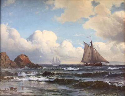 Carl Frederick Sorensen Carl Frederick Sorensen Ved Kullen 1876