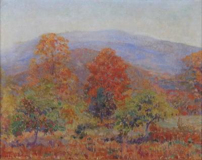 Carl Gordon Cutler Autumn in the Berkshires