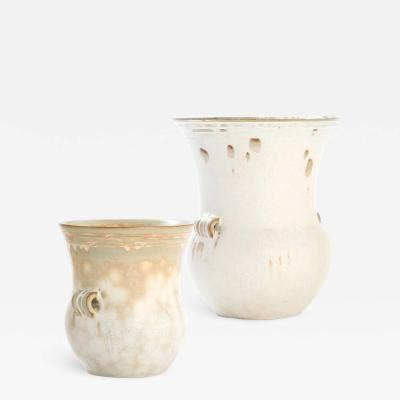 Carl Halier Duo of Classical Vases by Carl Halier for Royal Copenhagen