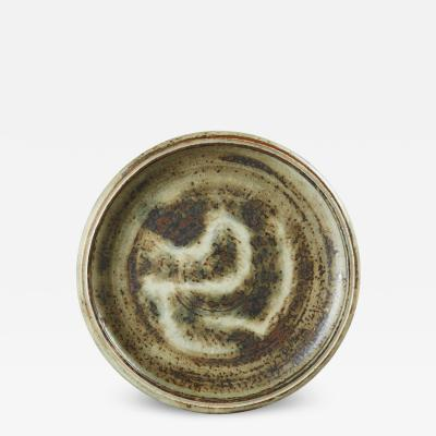 Carl Halier Shallow Bowl in Sung Glaze by Carl Halier