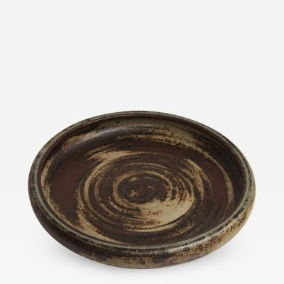 Carl Halier Sung glazed dish by Carl Halier