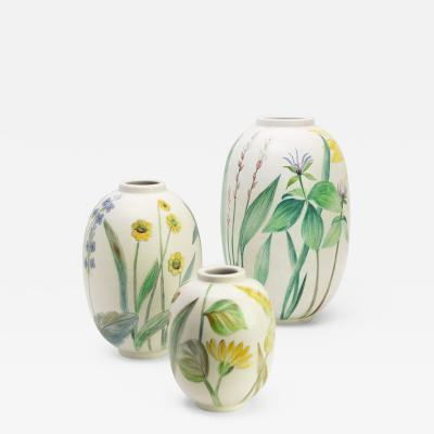 Carl Harry St lhane CARL HARRY STALHANE FLOWER VASES R RSTRAND GROUP