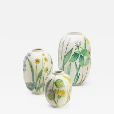 Carl Harry St lhane CARL HARRY STALHANE FLOWER VASES for R RSTRAND
