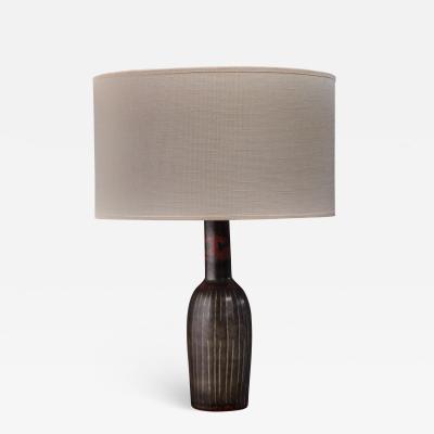 Carl Harry St lhane Carl Harry Stalhane ceramic table lamp