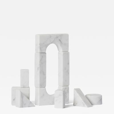 Carl Kleiner Small Building Decorative Blocks