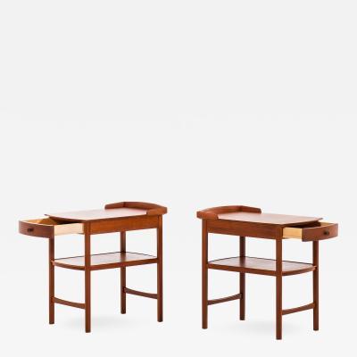 Carl Malmsten CARL MALMSTEN BEDSIDE TABLES