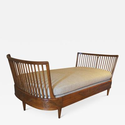 Carl Malmsten Extraordinary and rare daybed by Carl Malmsten for Nordiska Kompaniet