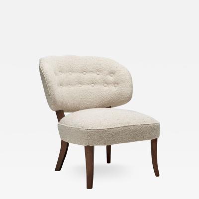 Carl Malmsten Gamla Berlin Easy Chair by Carl Malmsten Sweden 1940s