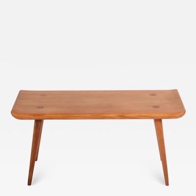 Carl Malmsten Visings Pine Bench by Carl Malmsten