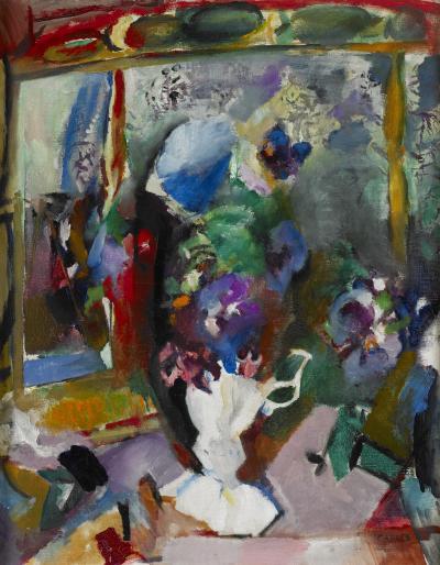 Arthur Beecher Carles Flowers Abstract Still Life