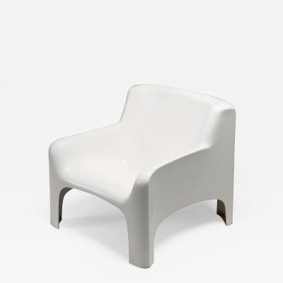Carlo Bartali Arflex Solar Lounge Chairs in Fiberglass by Carlo Bartali 1960s