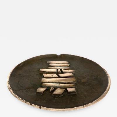 Carlo Brera Carlo Brera Italian Sculptural Charger or Large Plate ESART