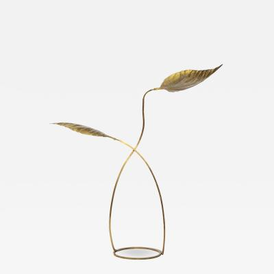 Carlo Giorgi Rabarbaro Two Leaf Floor Lamp