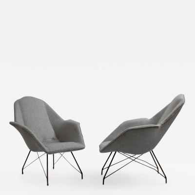 Carlo Hauner Pair of armchairs