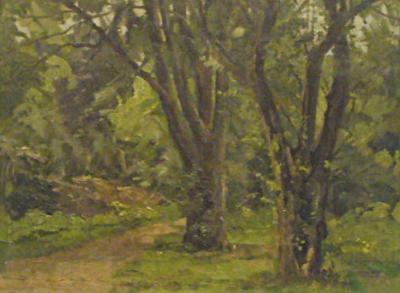 Carlo Hornung Jensen Forstbotanisk Garden in June