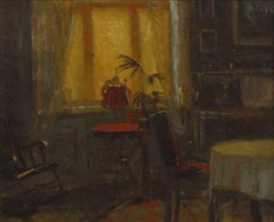 Carlo Hornung Jensen Interior 1920
