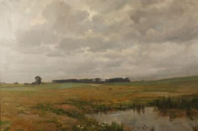 Carlo Hornung Jensen Painting