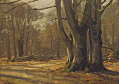 Carlo Hornung Jensen Trees in Dyrehaven May 1936