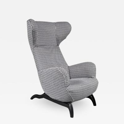 Carlo Mollino Ardea Chair for Zanotta Italy 1950