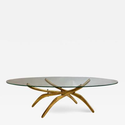 Carlo Mollino Rare Italian Mid Century Modern Arachnid Coffee Table Attr to Carlo Mollino
